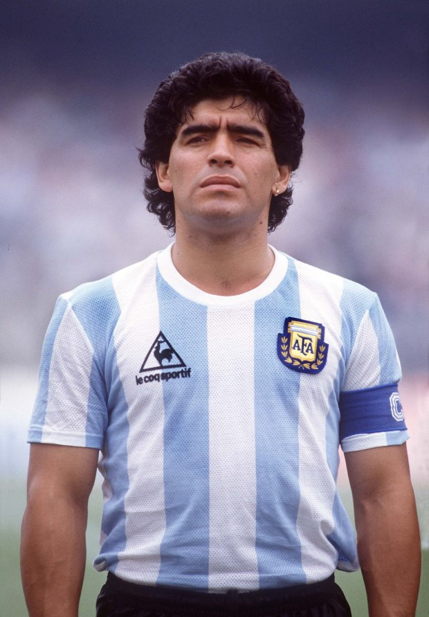 Diego Maradona mort d'une legende du football