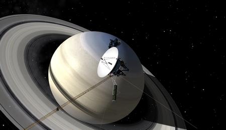 Voyager 1 système solaire