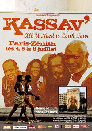 Kassav au Zénith