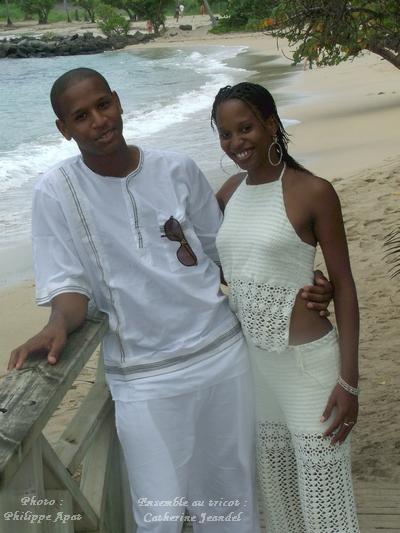 Tricot de Luxe Blanc mode balnéaire