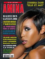 Lynnsha en couverture d'Amina