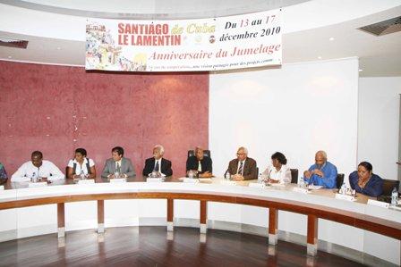 Santiago de Cuba et Le Lamentin (Martinique)