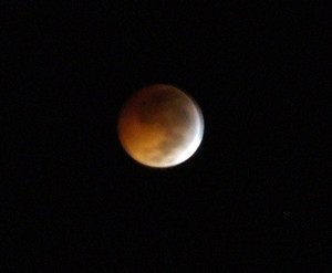 Eclipse de Lune 21 Decembre (Martinique)