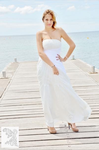 Veste et boléro de mariée