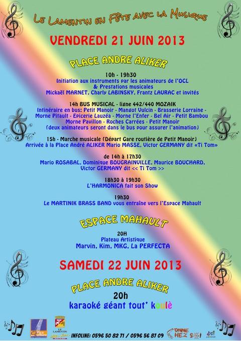 Fête de la Musique 2013 (Martinique)