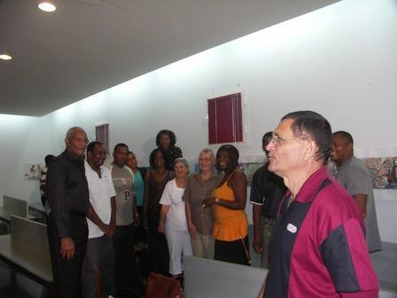 Les Artistes Cubains reçus par les partenaires