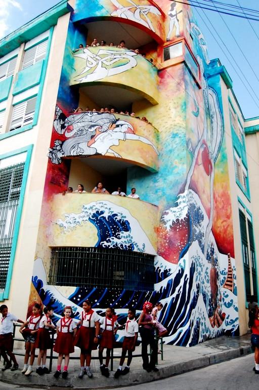 Inter nos 2010 peinture murale dans les coles de cuba for Ecole d art mural