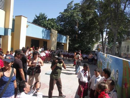 Inter-nos 2010 Peinture murale dans les écoles