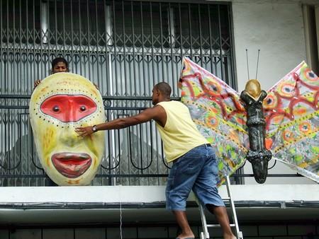 Carnaval 2011 parades Lamentin