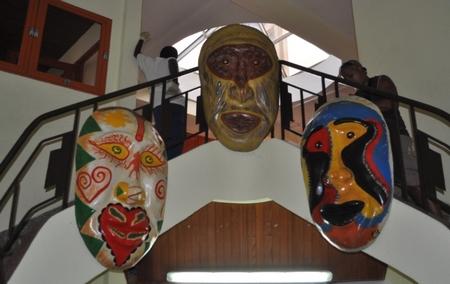 Carnaval Mas Masquaras in Martinique