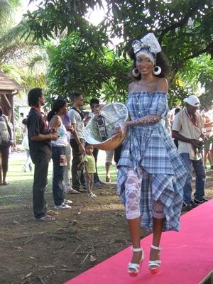 Marchande de Rhum Martiniquaise
