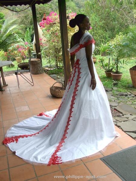 Robe Mariée Martinique Retouches