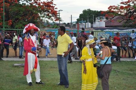 Santiago de Cuba Quema del Diablo 2011