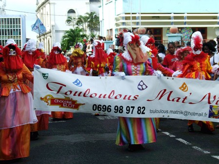 Guyane Touloulou au Carnaval 2011 (Martinique)