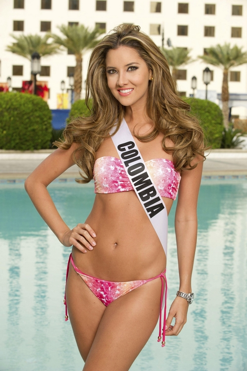 Miss Univers Colombie Daniella Alvarez (2012)