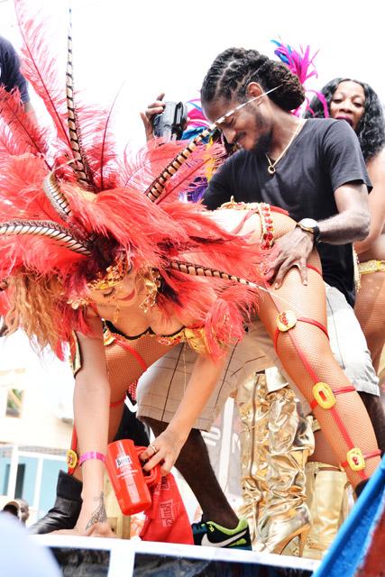Rihanna Crop Over 2011 (Barbados)
