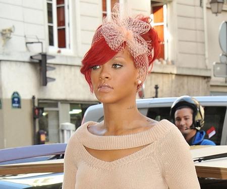 Rihanna pêche à Paris