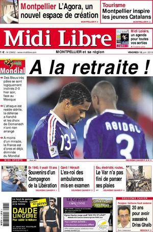 Anelka divorce de l'Equipe de France