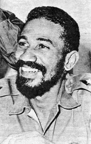 Juan Almeida commandant cubain