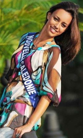 Aurélia Morelli Miss Nouvelle Calédonie 2008