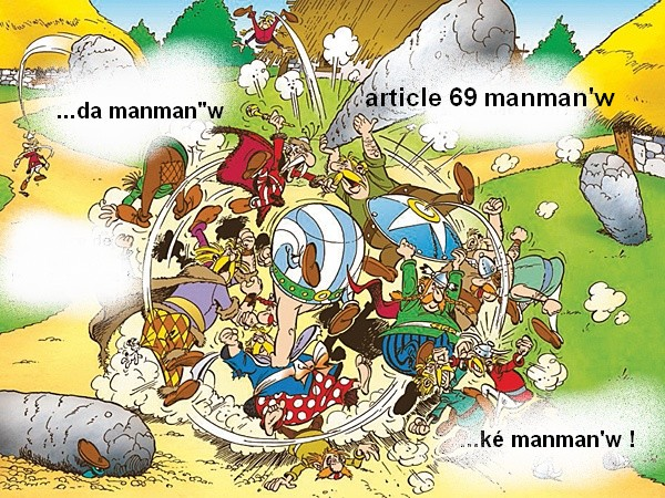 Résultat référendum Martinique Guyane