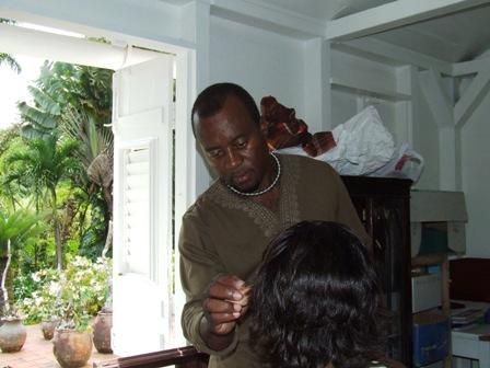 Maquillage artistique Martinique