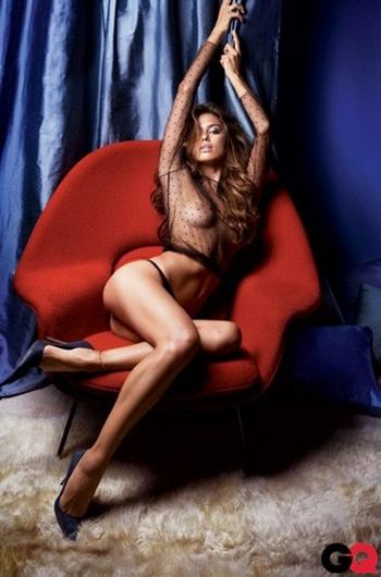 Irina Shayk toute nue GQ