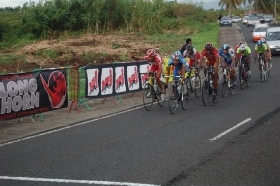 Tour cycliste critérium Lamentin
