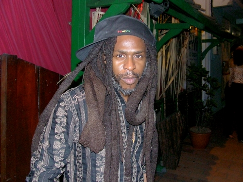 David Hinds (Steel Pulse) in Martinique