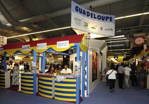 Foire de Paris 2008 stand Guadeloupe