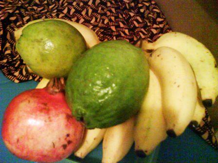 Corbeille de fruits Martinique