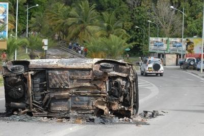 Grève Violence en Guadeloupe