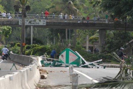 Fin de la grève Guadeloupe