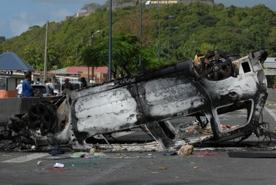 Grève en Guadeloupe