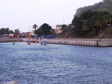 Nouveau Port de Grand-Rivière (Martinique)