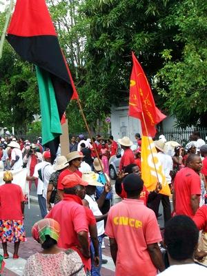 Martinique en Grève