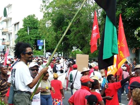 Grève en Martinique et Guadeloupe
