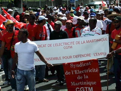 Electricity Workers on Strike