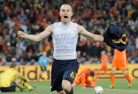 Andres Iniesta Campeon