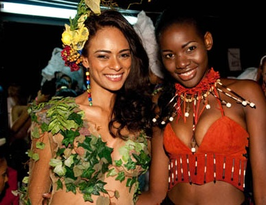 Miss Univers 2009 les nations africaines