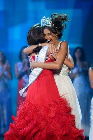 Photos sacre Miss Univers