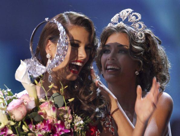 Photos du sacre Miss Univers