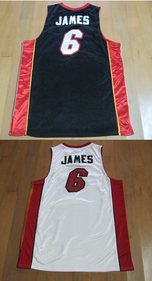 LeBron James Heat 6