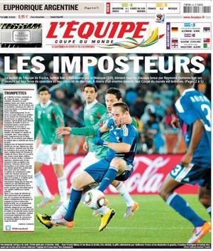 L'Equipe de France affaire Anelka