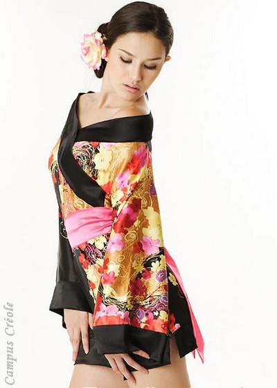 Lingerie Kimono Sexy