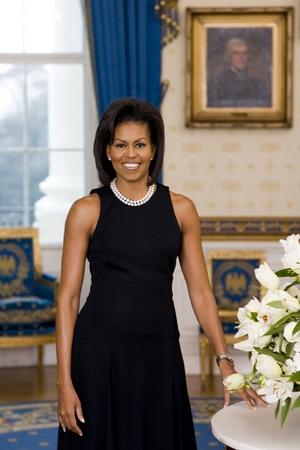 Michel Obama portrait officiel (Photo)
