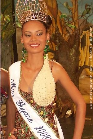 Miss France 2009 candidate des îles