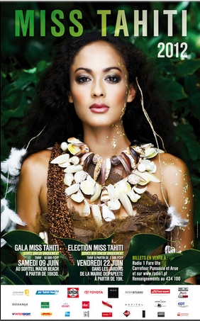 Miss France 2013 Miss Tahiti