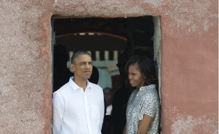 Obama in Gorée