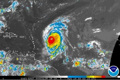 Ouragan Bill Météo